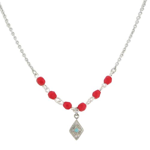 Diamond Crystal Necklace