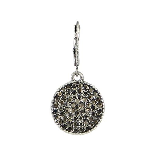 Round Pave Crystal
