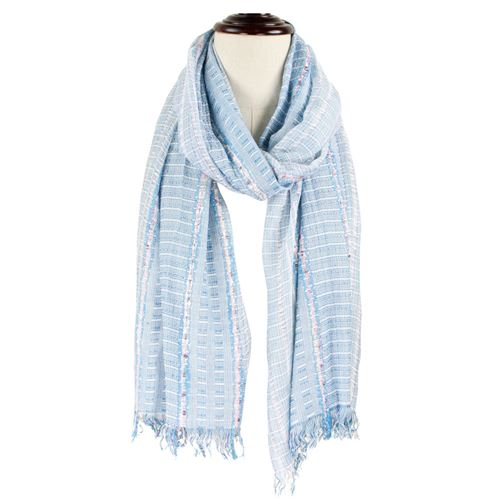 Woven Striped Scarf