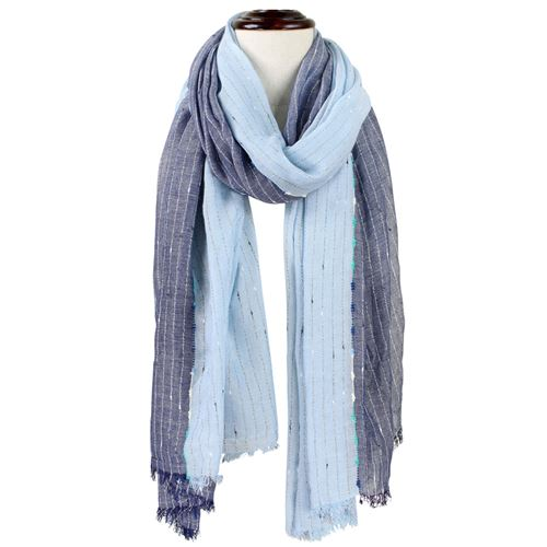 Two-Tone Woven Scarf
