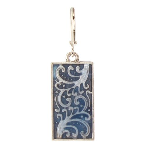 Patterned Enamel Rectangle
