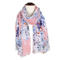 Flower Sequin Scarf