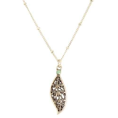 Filigree Dangle Necklace