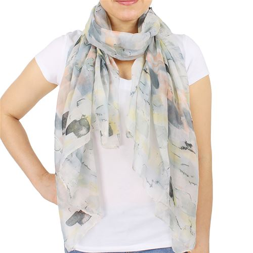 Abstract Watercolor Scarf